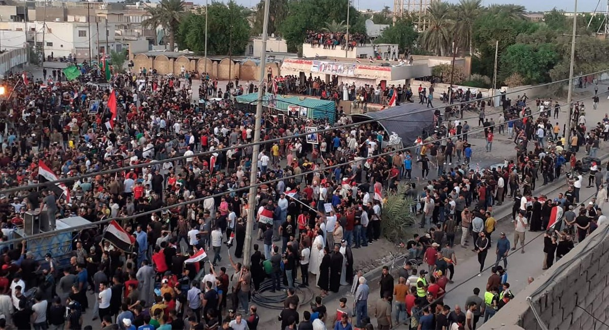 One killed and dozens injured in violent clashes in Wasit
