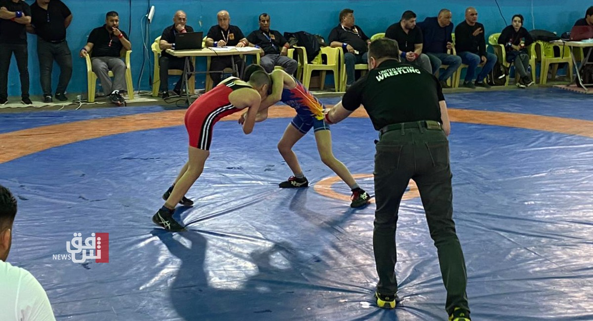 اختتام بطولة أندية العراق للأحداث بالمصارعة.. وهذه هي النتائج
