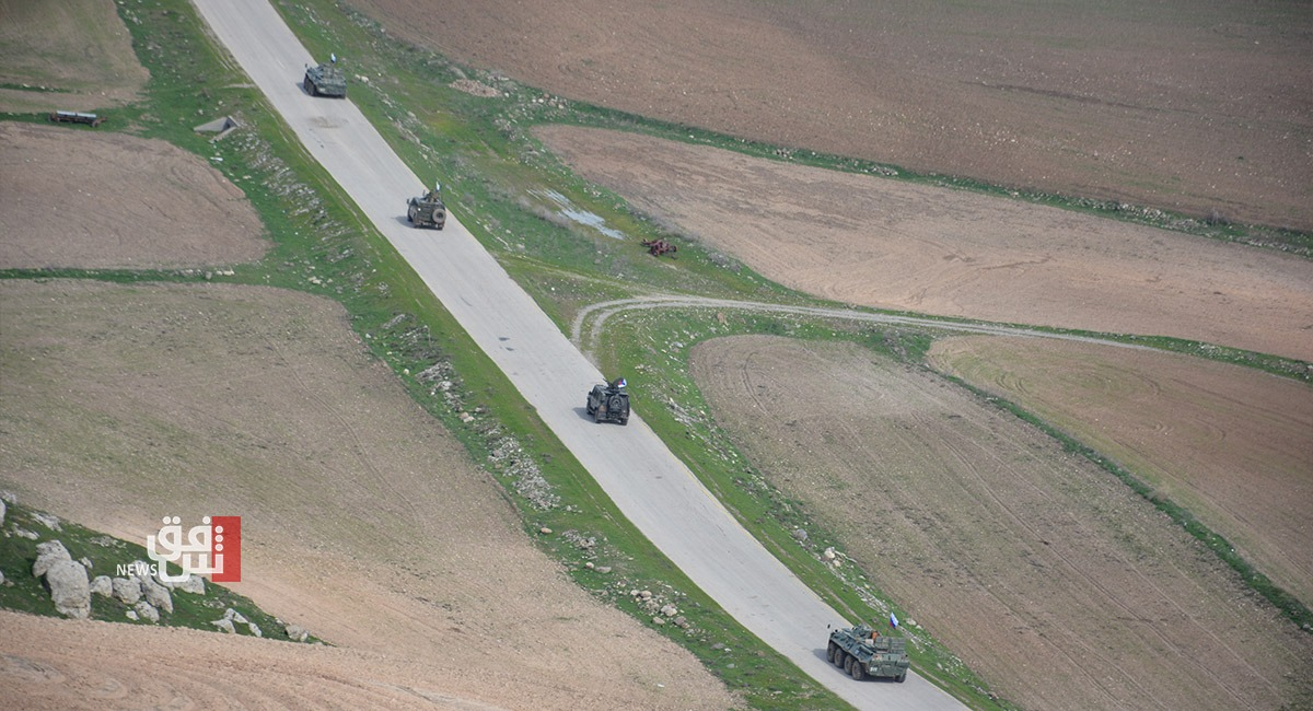 صور .. تسيير دورية روسية جديدة على حدود الادارة الذاتية و تركيا
