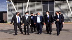 Erbil's delegation arrives in Baghdad