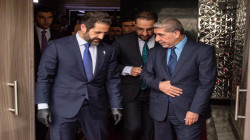 الوفد الحكومي الكوردي برئاسة طالباني يصل للبرلمان العراقي