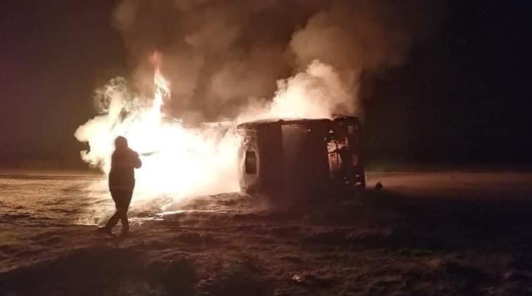 وفاة شخصين وإصابة آخرين بحادثين في محافظتين عراقيتين (صور)