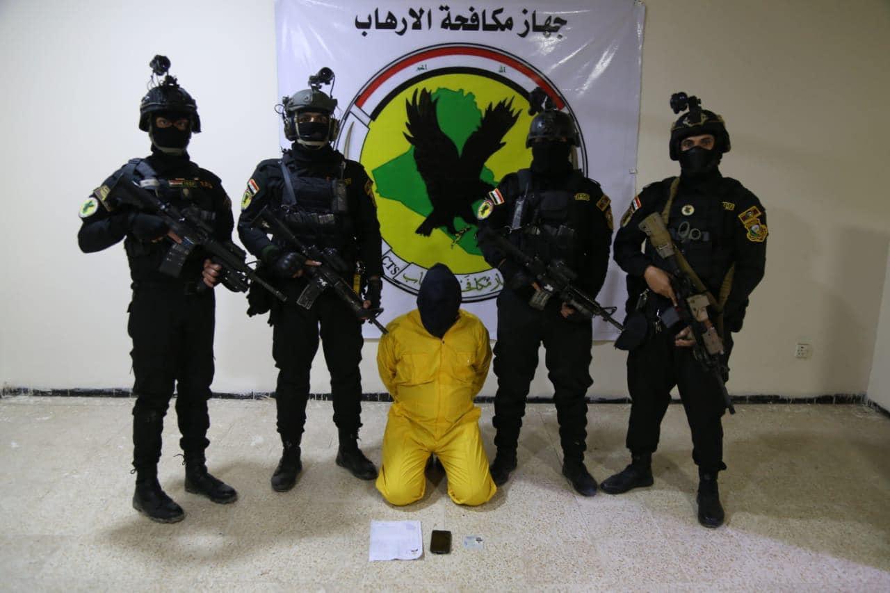 اعتقال ثمانية ارهابيين بينهم قياديان بعمليات وإنزال جوي في محافظتين عراقيتين