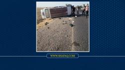 وفاة امرأة وإصابة 4 اخرين بحادث على طريق بغداد - كركوك