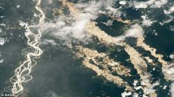 ناسا تكشف أنهاراً من الذهب في الأمازون
