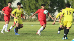 منتخب ناشئي العراق يتعادل مع فريق التاجي الأول