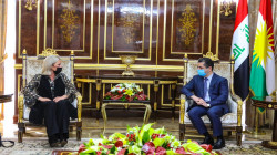 Barzani and Plasschaert stress the need to solve the Baghdad-Erbil disputes constitutionally