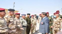 Iraq's Defense Minister heads back to Baghdad after a lightning visit to Diyala