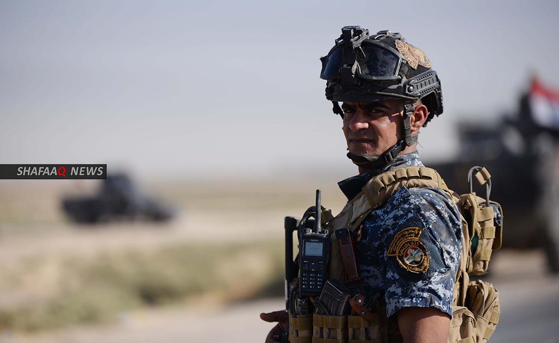 إصابة 10 عناصر من الشرطة الاتحادية بقصف استهدف جنوبي كركوك