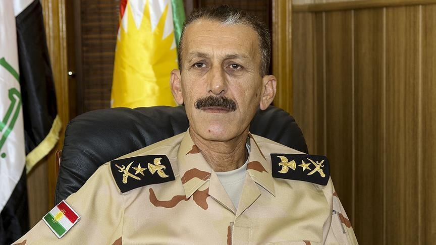 Peshmerga Chief of Staff demands forming joint strategic security zones