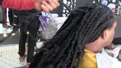 تعرف على صاحب أطول شعر بمصر.. فيديو