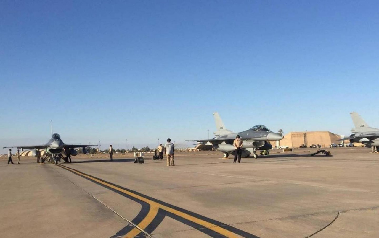 Two people injured in Balad Air Base attack
