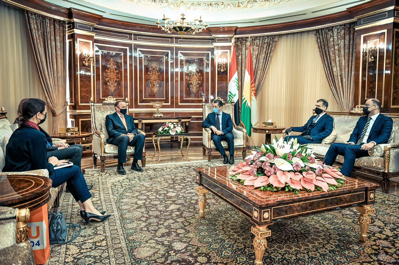 هولندا تبدي استعداداً لتطوير آفاق التعاون مع كوردستان