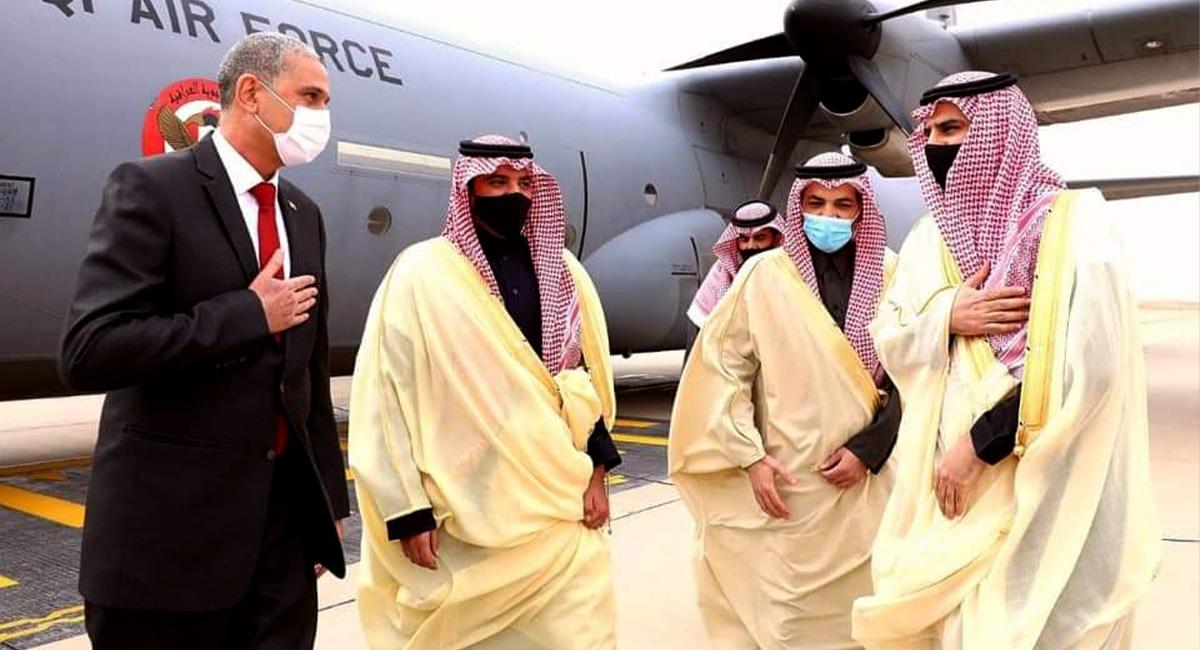 وزير الداخلية العراقي يصل السعودية على رأس وفد رفيع المستوى