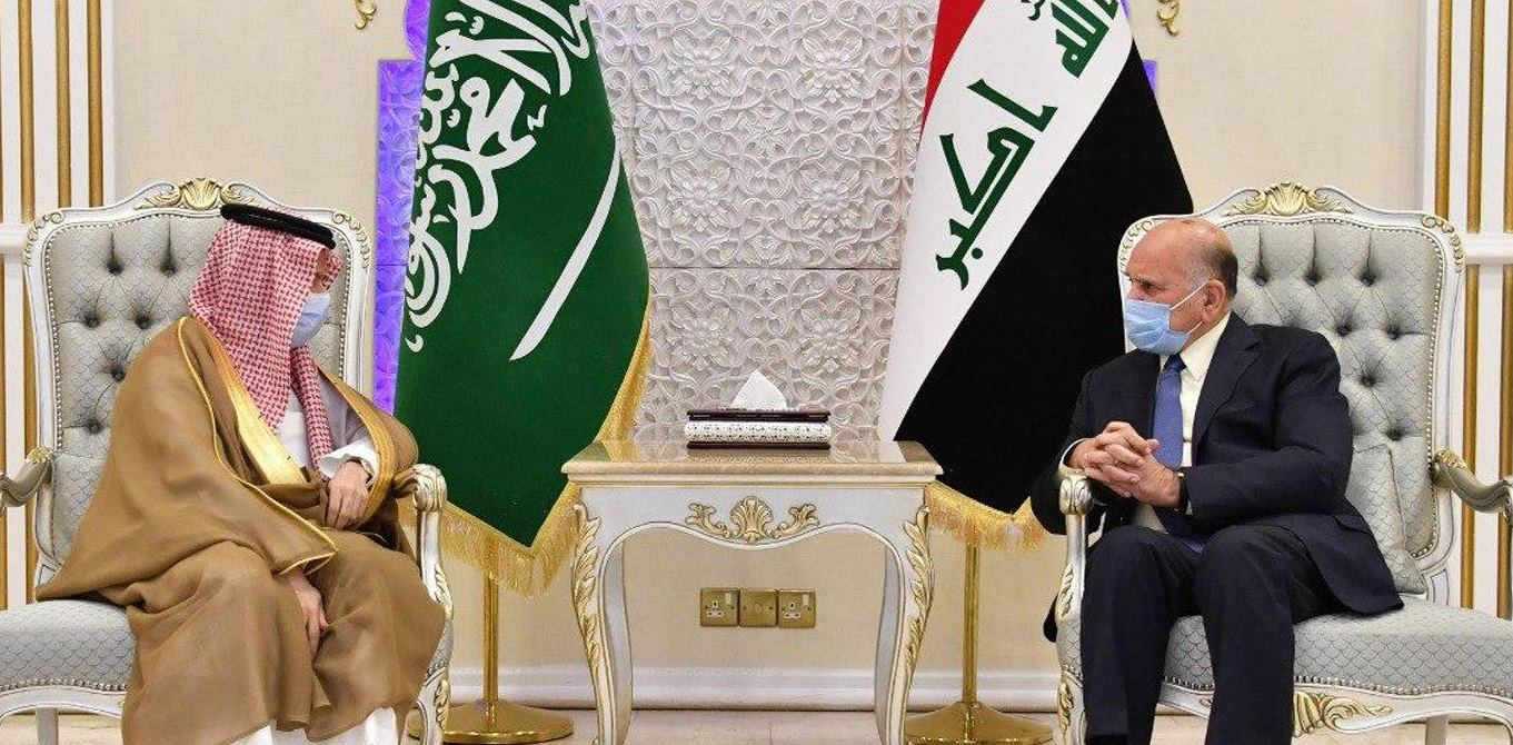 The Iraqi Foreign Minister arrived in Saudi Arabia
