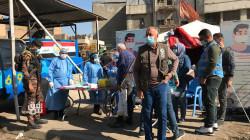 صور.. الصحة العراقية تنشر مفارز طبية ببغداد وسط التزام غير مسبوق بالكمامة