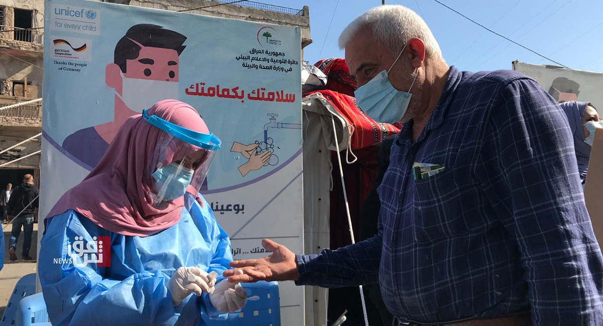 23 حالة وفاة وأكثر من 3800 إصابة جديدة بفيروس كورونا في العراق