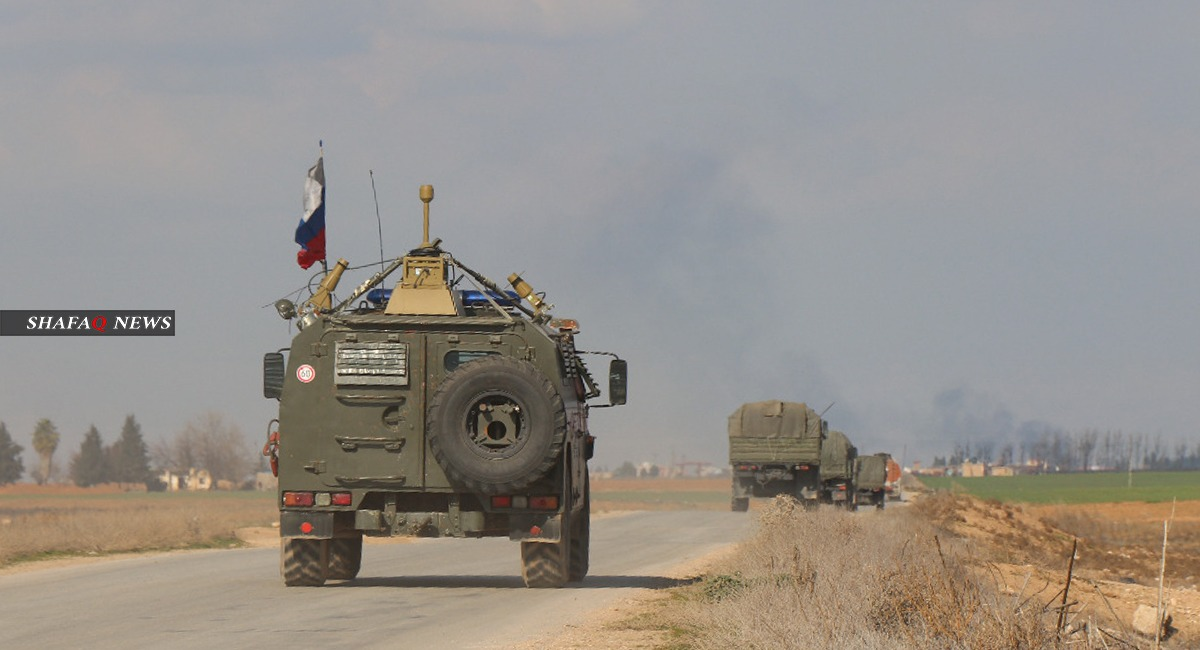 The Russian forces returned to their evacuated base in Ain Issa