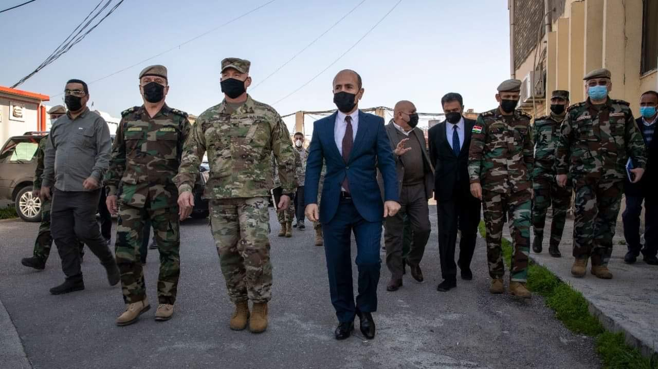 The Peshmerga Ministry demands more financial support from the US
