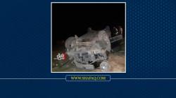 اصابة 4 مدنيين بحادث سير في ديالى