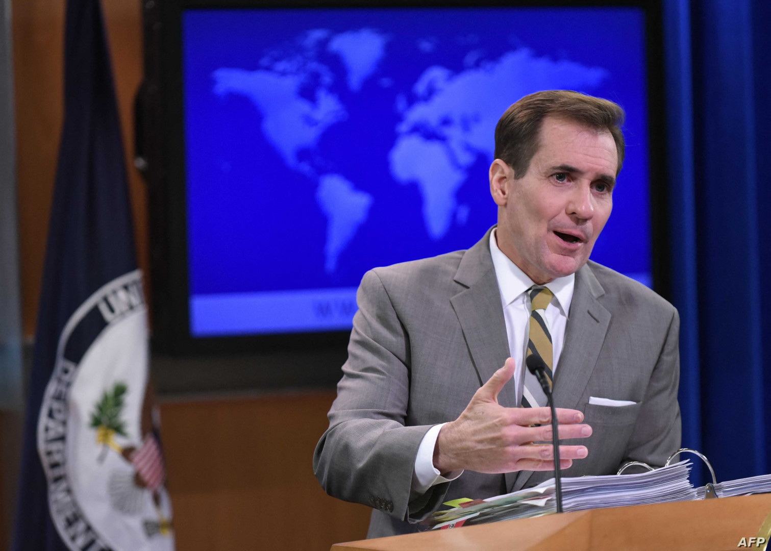 Pentagon spokesman hold no party responsibility for the recent attacks in Iraq
