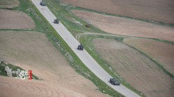 The Russian police conduct a patrol on the borders of NES and Turkey