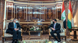Masrour Barzani discusses with the US ambassador to Iraq the latest updates in the country