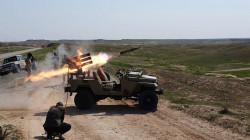"""ضربات صاروخية تدمر اهدافاً وممرات لـ""""داعش"""" شرقي صلاح الدين"""