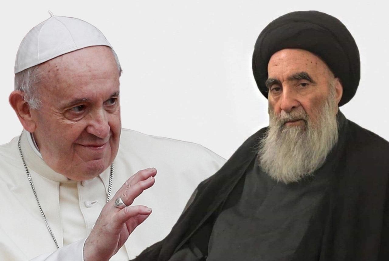 """""""عراق ما بعد الابادة"""" الشفاء على يد البابا والانظار تتجه للسيستاني بـ""""وثيقة الأخوة"""""""