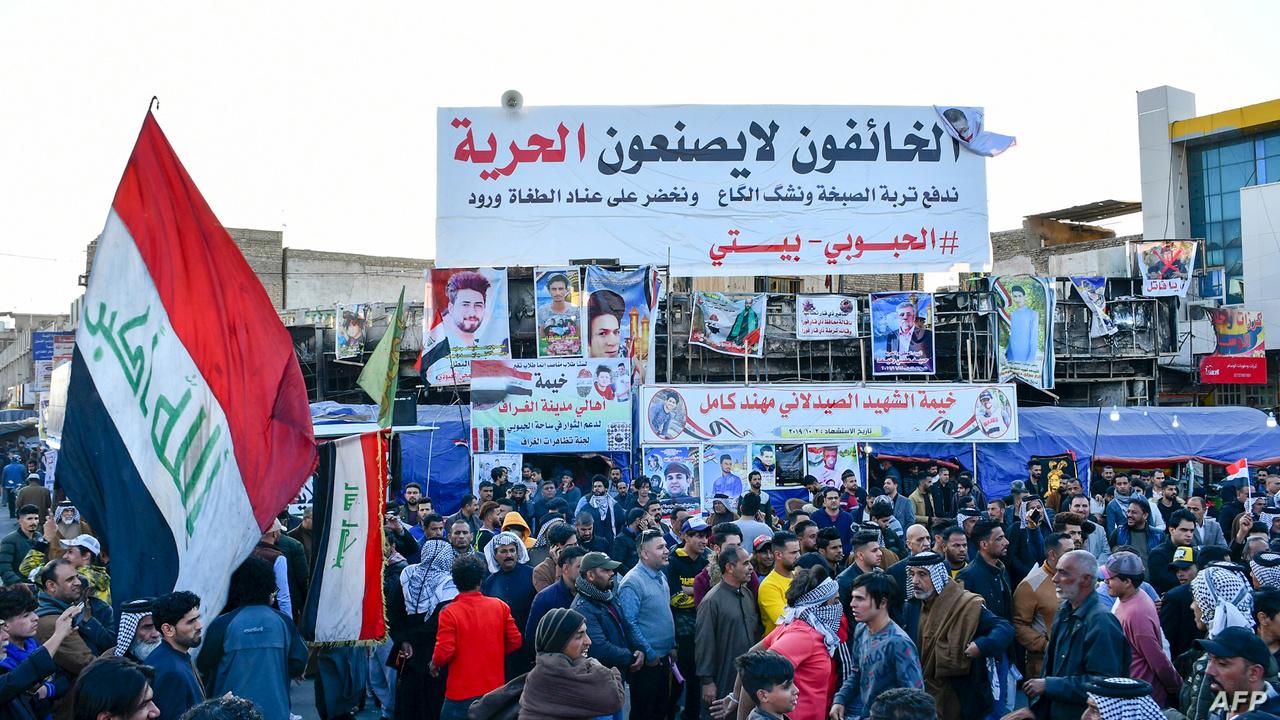 """محتجو الناصرية يطرحون 10 مطالب والنجف توقف """"التصعيد"""""""