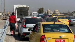 الموصل تختنق مروريا بعد انتهاء أيام الحظر الشامل (صور)
