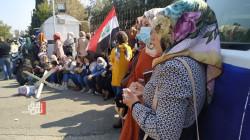 كركوك.. المئات يطالبون بفرص عمل أمام شركة نفط الشمال (صور)