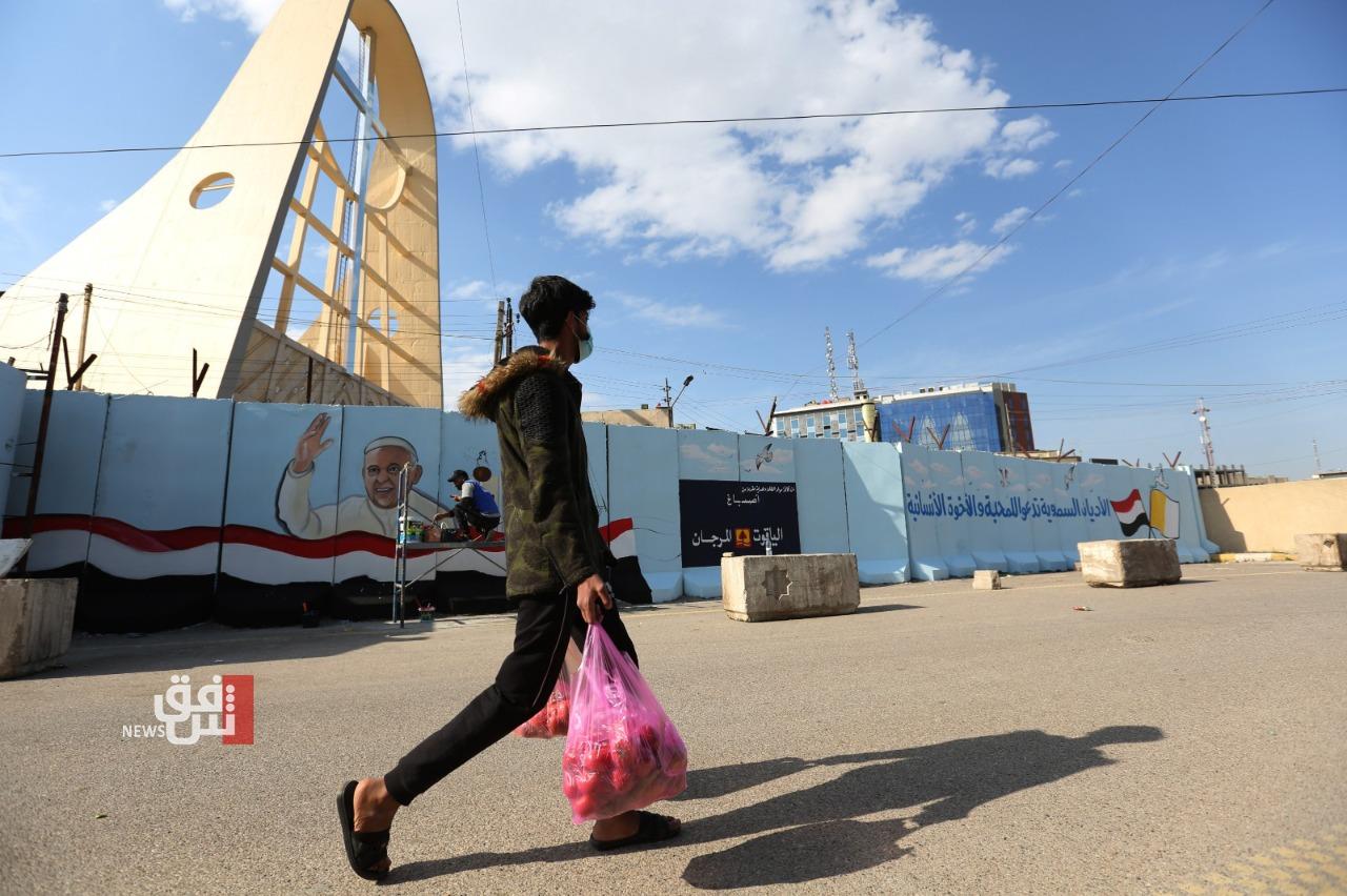 """العراق يعلن تأمين زيارة البابا ارضاً وجواً.. """"الحبر الأعظم: اتطلع للقاء هذا الشعب الذين عانى كثيرًا"""