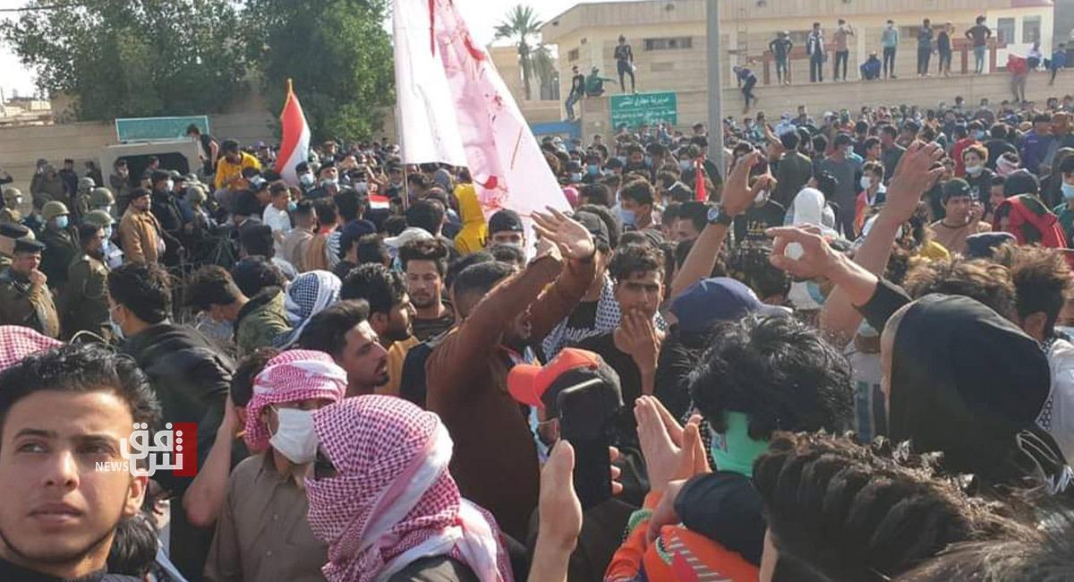 متظاهرو السماوة: الاحتجاج متواصل لحين إقالة محافظ المثنى