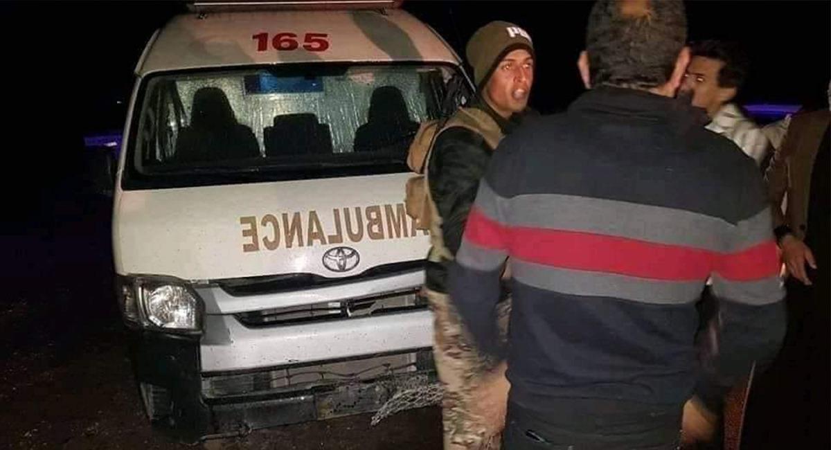 مصرع وإصابة 5 أشخاص من أسرة واحدة بحادثين متتالين أحدهما بالاسعاف جنوبي الموصل