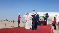 البابا يصل إلى بغداد في زيارة تاريخية