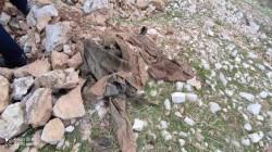 صور .. العثور على رفات جندي عراقي في جبل بإقليم كوردستان