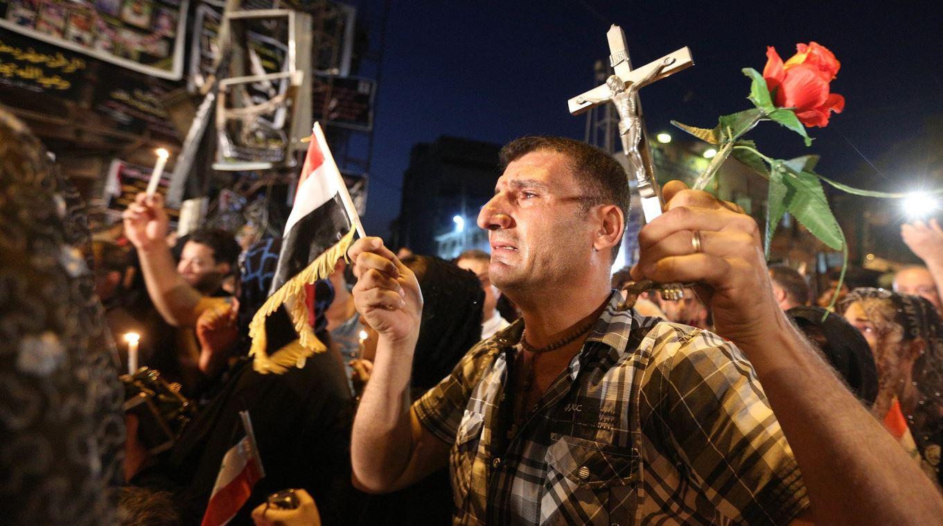 """بـ""""أم العين"""".. مشهد مصغر سيراه البابا فرنسيس لكارثة المسيحيين في العراق"""