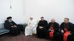 الفاتيكان يصدر بيانا بشأن لقاء البابا والسيستاني