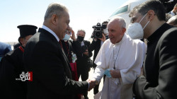 Pope Francis arrives in the Ancient City of Ur