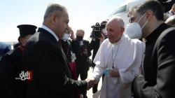 البابا يصل إلى مدينة الناصرية لتأدية صلاة موحدة في مسقط رأس إبراهيم