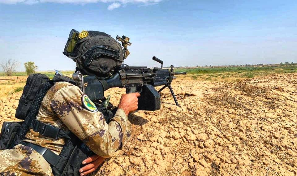 Iraqi Army officer killed in an ISIS attack in Northern Baghdad