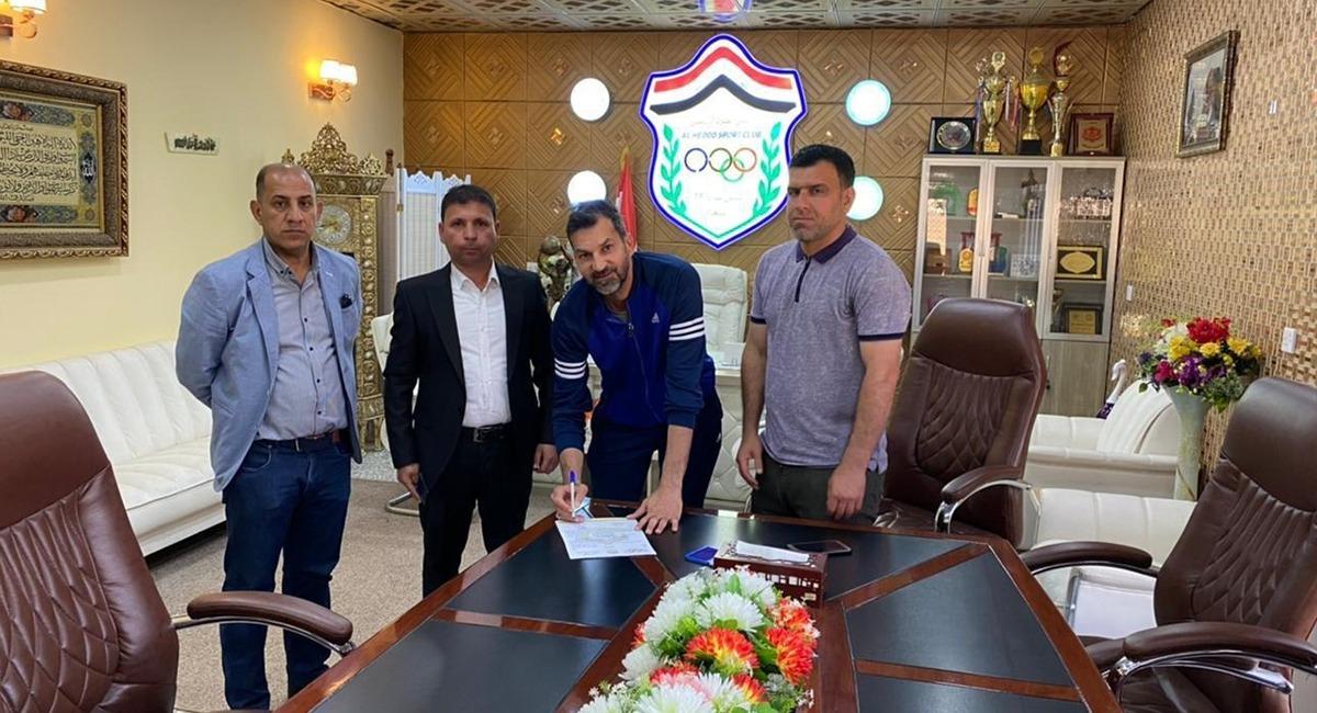 الحدود يسمي مدرباً جديداً لفريقه بعد استقالة مظفر جبار