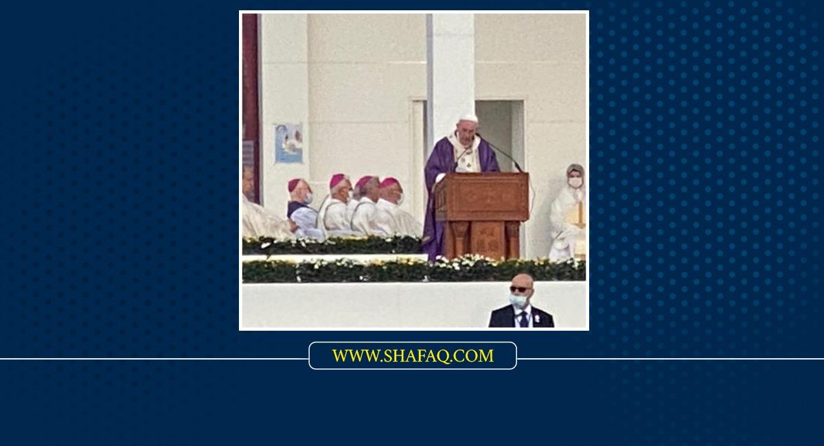 البابا من قداس أربيل: الكثيرون في العراق يحملون جراح العنف ويجب إزالة الطمع بالسلطة من قلوبنا