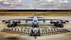 """بمشاركة طائرات إسرائيلية وسعودية وقطرية.. دورية لـ""""بي-52"""" الامريكية فوق الشرق الأوسط"""