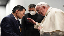 Pope Francis meets the father Alan Kurdi's, drowned Syrian child