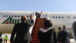 الرئيس برهم صالح يغرّد بالايطالية مودعاً البابا فرنسيس