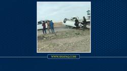 مصرع 4 مدنيين بحادث مروع في صلاح الدين