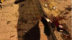 دماء وأحذية.. شفق نيوز تنشر صوراً لآثار انفجار جسر الائمة