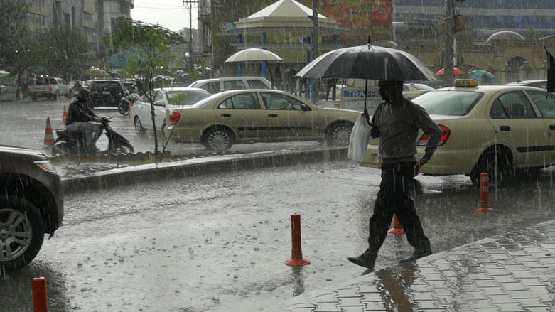 موجة من الأمطار والثلوج تجتاح إقليم كوردستان